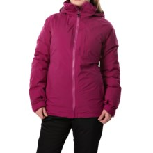 Burton [ak] 2L Flare Gore-Tex® Down Snowboard Jacket - Waterproof, 800 Fill Power (For Women) in Poison - Closeouts